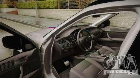 BMW X5M 2012 Special для GTA San Andreas вид сбоку