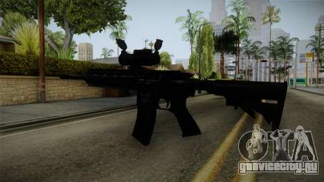 HK416 v2 для GTA San Andreas третий скриншот