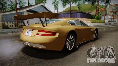 Aston Martin Racing DBRS9 GT3 2006 v1.0.6 YCH для GTA San Andreas