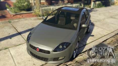 Fiat Bravo 2011 для GTA 5 вид сзади