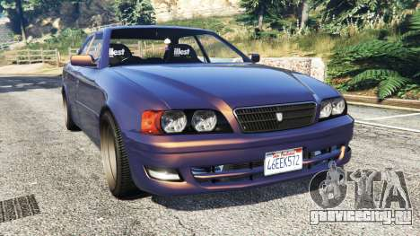 Toyota Chaser (JZX100) [add-on] для GTA 5