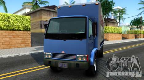 GTA IV Maibatsu Mule with GTA SA Ads для GTA San Andreas вид сзади слева