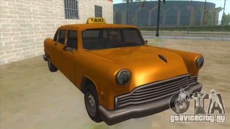 VC Cabbie Xbox для GTA San Andreas
