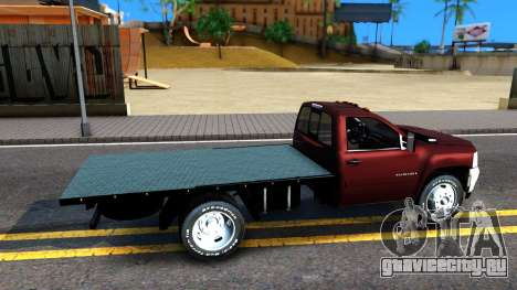 Chevrolet HD 3500 2013 для GTA San Andreas вид справа