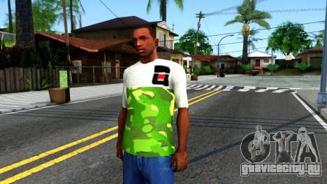 Design Camouflage T-Shirt для GTA San Andreas