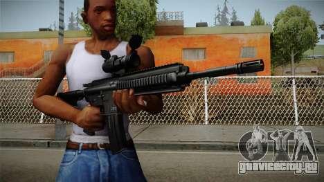HK416 v2 для GTA San Andreas