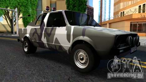 Volkswagen Caddy для GTA San Andreas вид слева