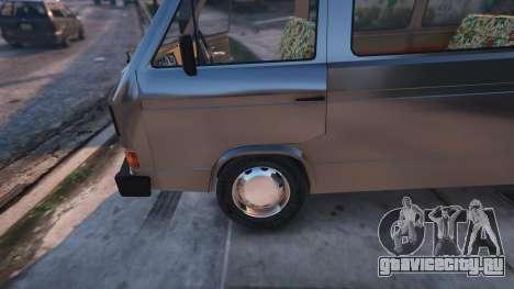Volkswagen Caravelle T3 (1983) для GTA 5