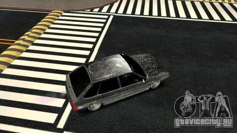 ВАЗ 2109 Зимняя версия для GTA San Andreas вид справа