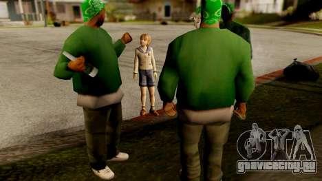 Resident Evil ORC - Sherry Birkin (YoungKid) для GTA San Andreas третий скриншот