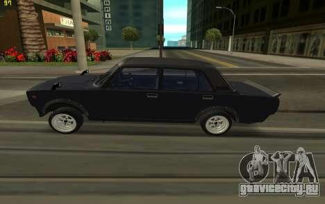 ВАЗ 2105 для GTA San Andreas вид слева