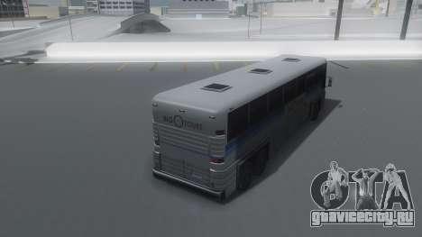 Coach Winter IVF для GTA San Andreas вид слева