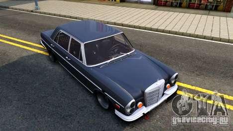 Mercedes-Benz 300SEL 6.3 для GTA San Andreas вид снизу