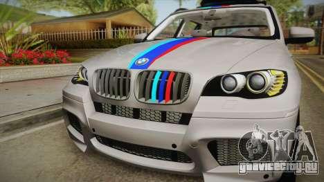 BMW X5M 2012 Special для GTA San Andreas вид справа