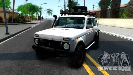 Lada Niva 4x4 Off Road для GTA San Andreas