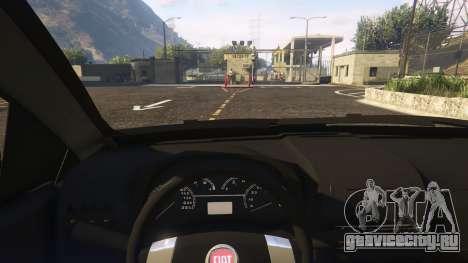 Fiat Bravo 2011 для GTA 5 вид справа
