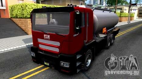 GTA V MTL Dune Oil Tanker для GTA San Andreas