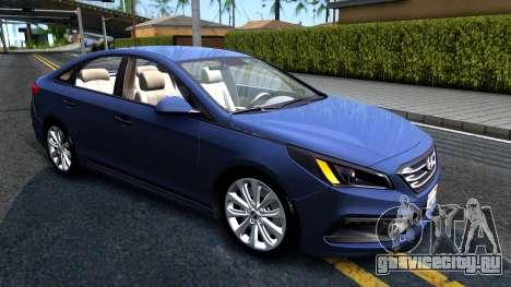Hyundai Sonata 2016 для GTA San Andreas вид слева