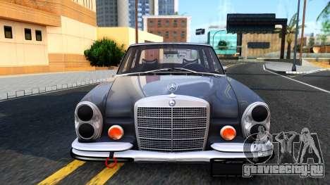 Mercedes-Benz 300SEL 6.3 для GTA San Andreas вид сзади
