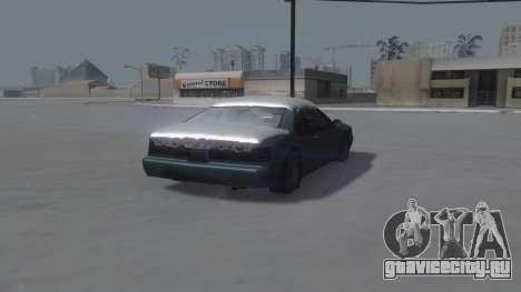 Fortune Winter IVF для GTA San Andreas вид справа