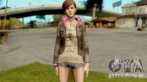 Resident Evil Revelations 2 - Moira Burton для GTA San Andreas второй скриншот