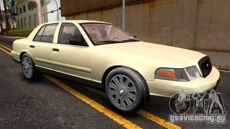 Ford Crown Victoria Unmarked 2009 для GTA San Andreas вид справа