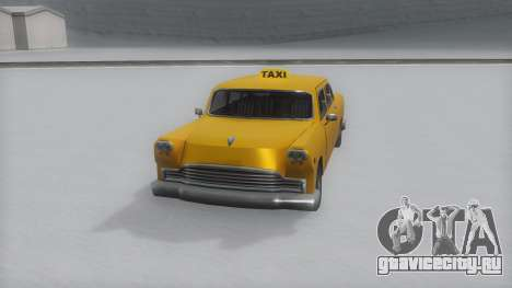 Cabbie Winter IVF для GTA San Andreas