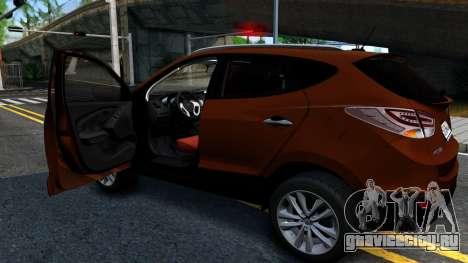 Hyundai ix35 Aze для GTA San Andreas вид справа