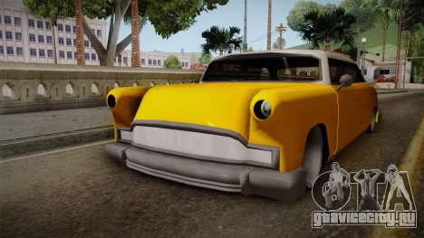 Custom Cab для GTA San Andreas вид справа