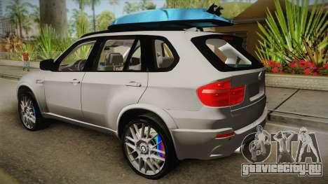 BMW X5M 2012 Special для GTA San Andreas вид слева