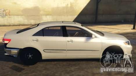Toyota Camry 2011 DoN DoN Edition для GTA 5 вид слева