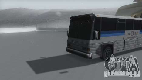 Coach Winter IVF для GTA San Andreas вид справа