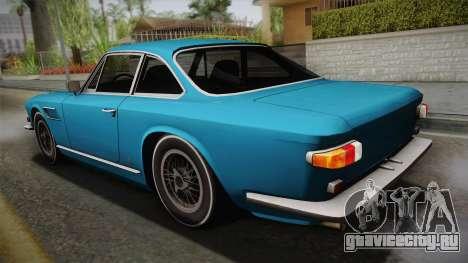 Maserati Serbin 4000 v0.1 (Beta) для GTA San Andreas вид слева