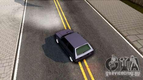 Yugo Koral 45 Sport Tuning для GTA San Andreas вид сзади