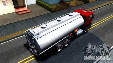 GTA V MTL Dune Oil Tanker для GTA San Andreas вид справа