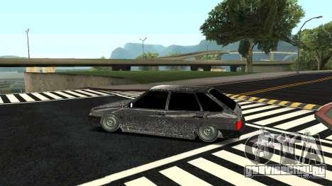 ВАЗ 2109 Зимняя версия для GTA San Andreas вид слева