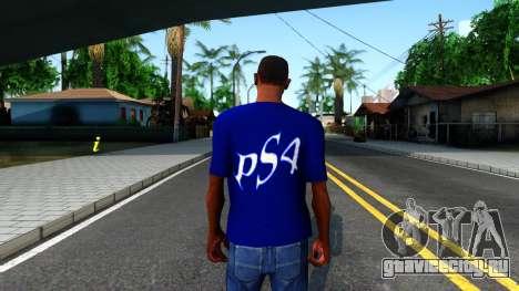 T-Shirt PS4 для GTA San Andreas третий скриншот