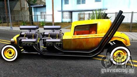 Hotknife Double V8 для GTA San Andreas