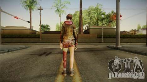 RE Revelations 2 - Moira Burton Survivor для GTA San Andreas третий скриншот