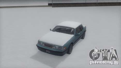 Bravura Winter IVF для GTA San Andreas