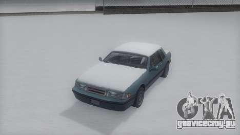 Bravura Winter IVF для GTA San Andreas