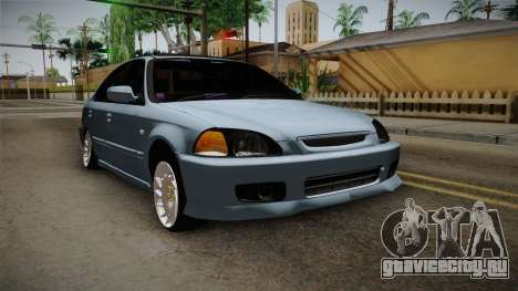 Honda Civic Turbo для GTA San Andreas