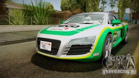 Audi R8 Coupe 4.2 FSI quattro EU-Spec 2008 YCH для GTA San Andreas двигатель