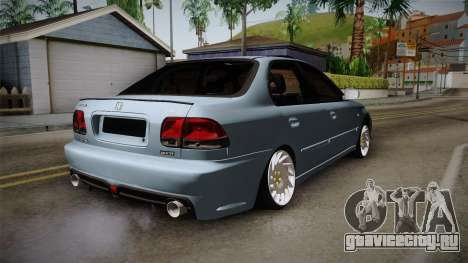 Honda Civic Turbo для GTA San Andreas вид слева