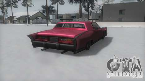 Remington Winter IVF для GTA San Andreas вид слева