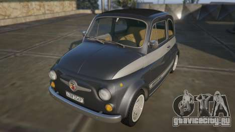 Fiat Abarth 595ss Racing ver для GTA 5