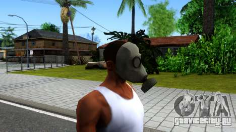 Gas Mask From Call of Duty Modern Warfare 2 для GTA San Andreas третий скриншот