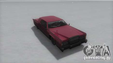 Remington Winter IVF для GTA San Andreas вид справа