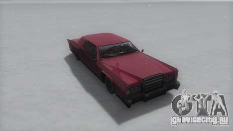 Remington Winter IVF для GTA San Andreas вид справа