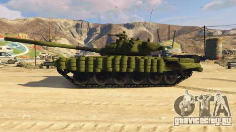 Tank T-72 для GTA 5